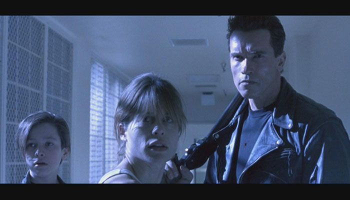 فيلم Terminator 2: Judgement Day أرنولد حرب روبوتات
