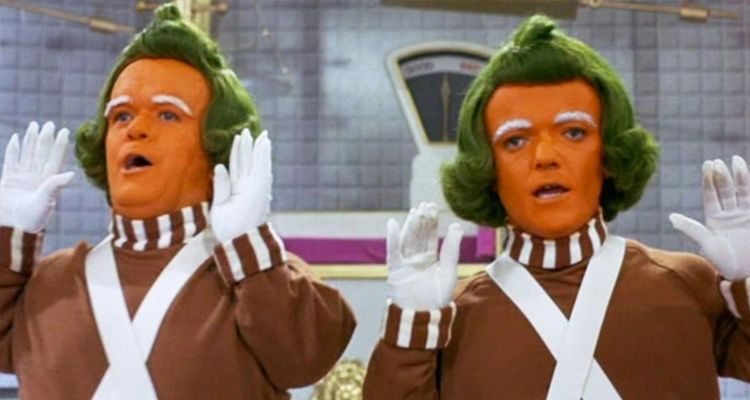oompa loompas اوما لومباس في فيلم تشارلي اند ذا تشاكليت فاكتوري Charlie and The Chocolate Factory