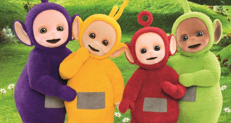التليتابيز The Teletubbies