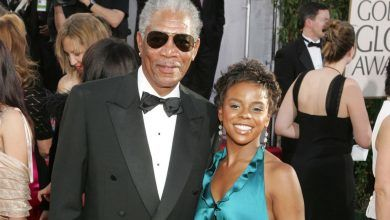 مورغان فريمان Morgan Freeman وحفيدته ادينا هاينز E'dena Hines