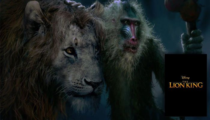 مشهد من فيلم The Lion King