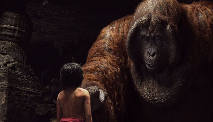 مشهد من فيلم The Jungle Book