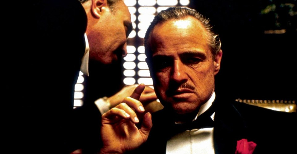 مارلون براندو بدور فيتو كارليوني العراب Th Godfather