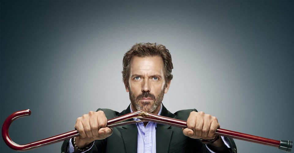 Hugh laurie House MD Cane