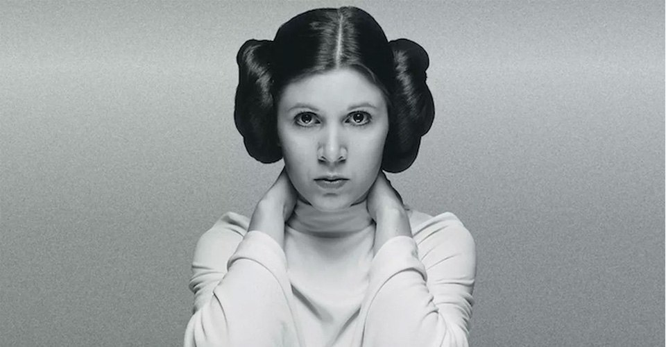 Carrie Fisher Princess Lia Star Wars
