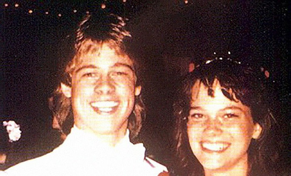 Sara Hart and Brad Pitt