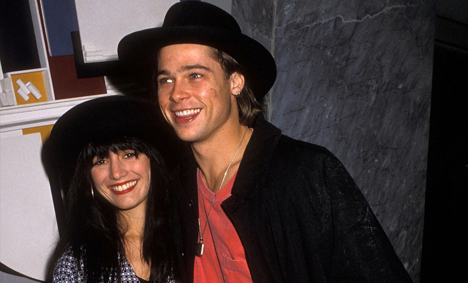 Brad Pitt and Jill Shoelen
