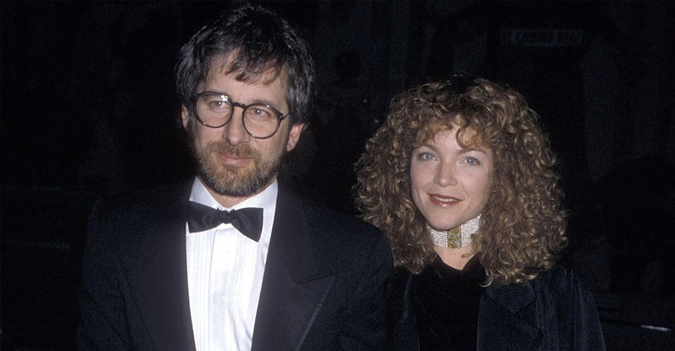 Steven Spielberg and Amy Irving