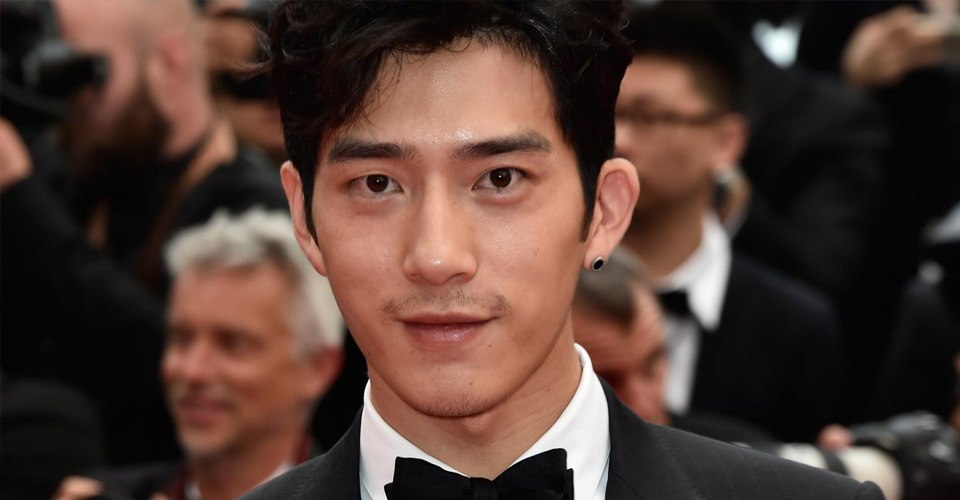 Jing Boran is seen sporting an earring at the 69th annual Cannes Film Festival