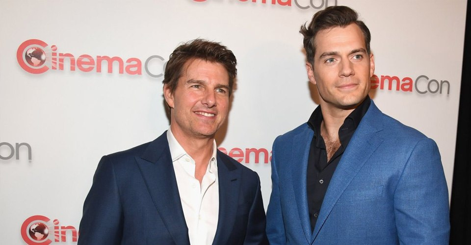 Tom Cruise and Henry Cavill