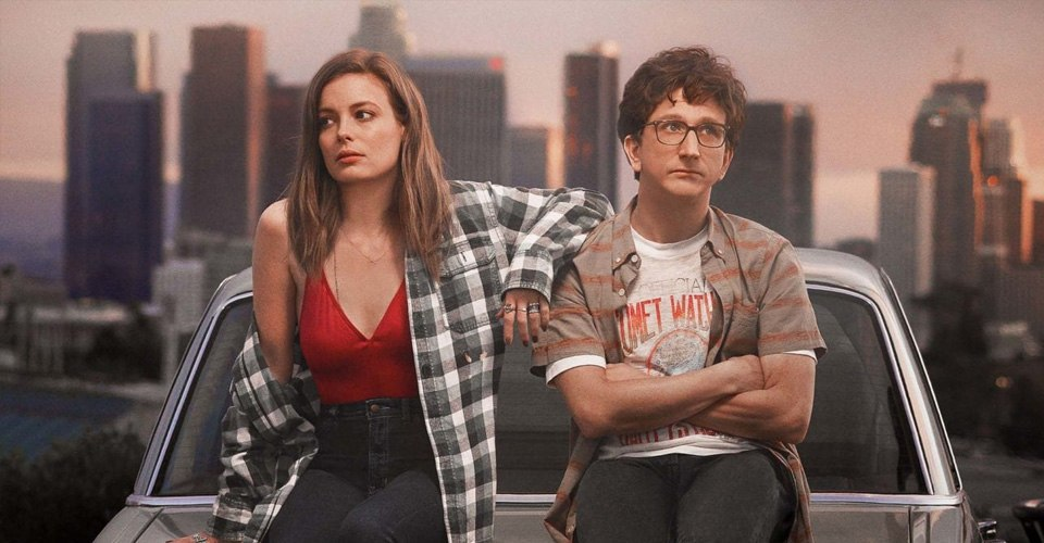 Paul Rust and Gillian Jacobs