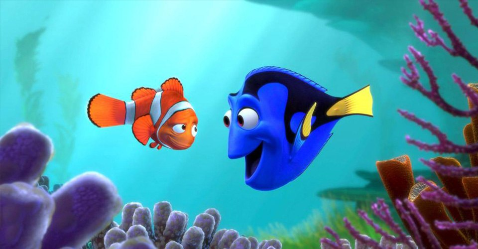 Dory and marlin finding nemo